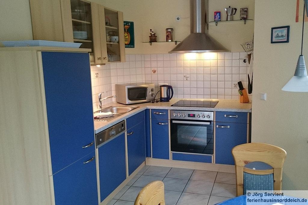 Ferienhaus Luechtfuer Norden-Norddeich - Küche