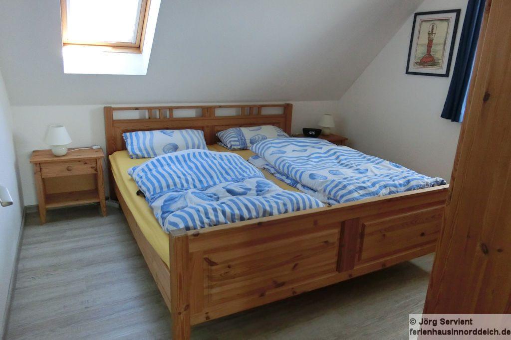 Ferienhaus Luechtfuer Norden-Norddeich - Schlafzimmer