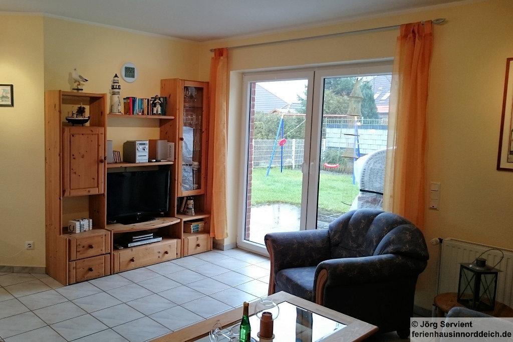 Ferienhaus Luechtfuer Norden-Norddeich - Wohnzimmer